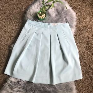 Ann Taylor Loft Stretch Scuba Knit Skirt